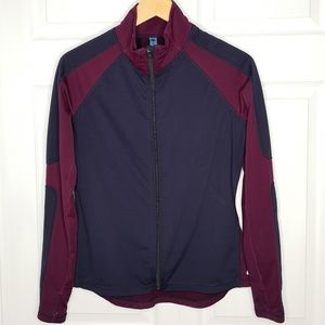 Nevada Activewear Athletic Running Zip Jacket
